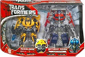 Movie Transformers Optimus Prime and Bumble Bee Box Set [Toy] [Toy