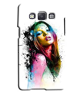 Clarks Girl Inspird Hard Plastic Printed Back Cover/Case For Samsung Galaxy A7