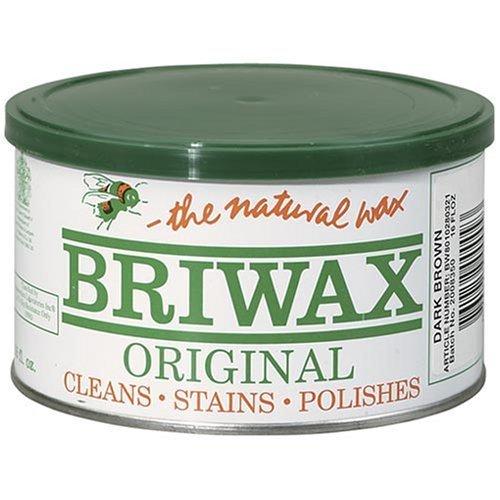 BRIWAX CENTRAL BR-1-DB PASTE WAX 1LB - DARK BROWN