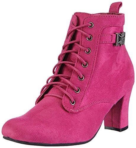 Andrea Conti3617400 - Stivali classici imbottiti a gamba corta Donna , Rosa (Pink (028)), 38