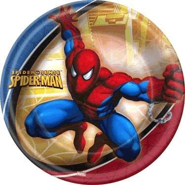 Spider-Man Spider-Sense Dinner Plates (8) - 1