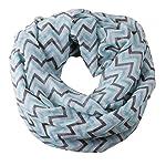 Quest Sweet Women's Ladies Korea Knit Crochet Flora Twist Style Headband Head Wrap, Coffee