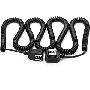 DSLRKIT 10M 10 meter i-TTL Off Camera FLASH sync Cord for Nikon
