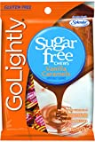 GoLightly Sugar Free Vanilla Caramels, 2.75-Ounce Bags (Pack of 12)