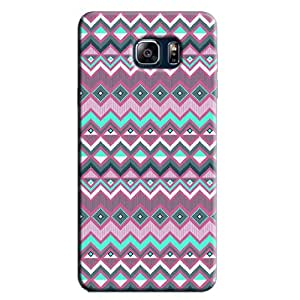 PINK & GREEN AZTEC PATTERN BACK COVER FOR SAMSUNG GALAXY NOTE 5
