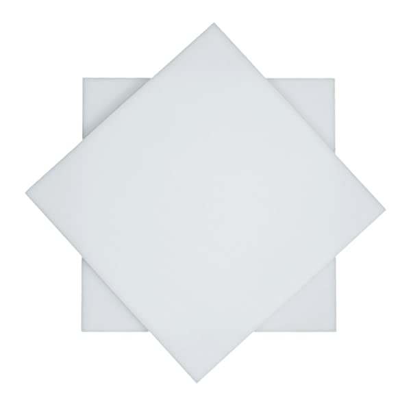 "UHMW Polyethylene Plastic Sheet 3//8/"" x 24/"" x 24/"" Black Color"