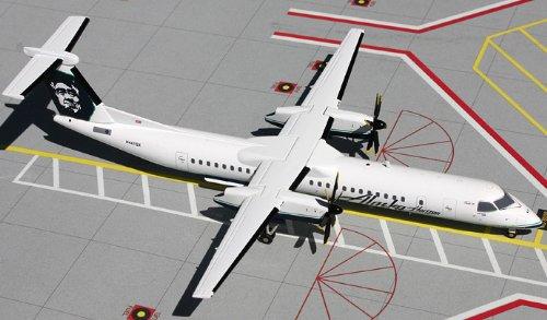 1: 200 ジェミニジェット Alaska 航空 Dash 8-400 (並行輸入)