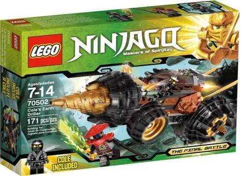 Lego Ninjago 70502 Cole's Earth Driller Final Battle Cole Included NEW in Box!! by Other Toys & Games