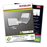 AtFoliX FX-Mirror screen-protector for Wacom Bamboo Fun Medium - Fully mirrored screen protection!