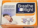Breathe Right Advanced Nasal Strips, 44 Count