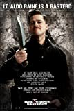 Empire 312358 Inglourious Basterds Lt. Aldo Raine Poster