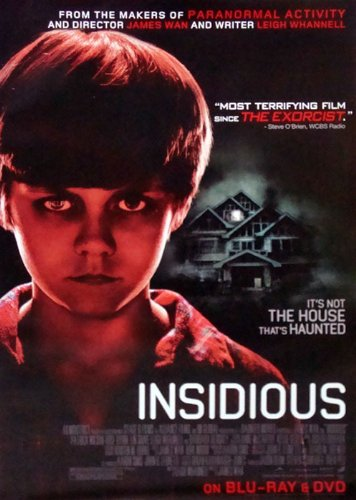 insidious movie poster 27quot x 40quot approx