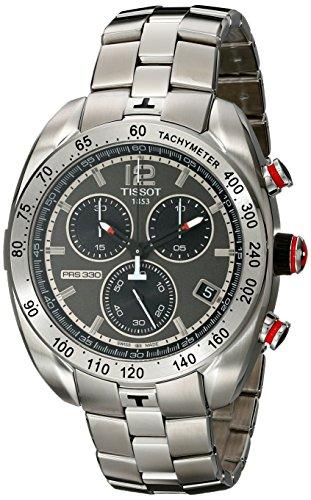 Tissot Herren-Armbanduhr PRS 330 Chronograph Quarz Edelstahl T076.417.11.067.00