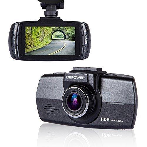 DBPOWER-Camra-de-Voiture-27-Dash-Cam-Camscope-Enregistreurs-DVR-Vido-de-Voiture-avec-120-HD-1080P-Acclromtre-Capteur-G-Vision-Nocturne-4xZoom-Supporte-les-Cartes-Micro-SD-32Gonon-incluse