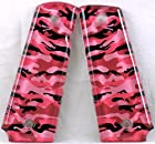 1911 Full Size Left Side Safety Lever SPD Acrylic Custom Grips Pink Camouflage