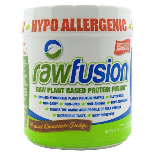 San Rawfusion Diet Supplement, Peanut Chocolate Fudge, 1 Pound