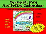 Spanish Fun Activity Calendar