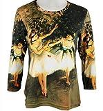 Edgar Degas - Dance Recital Cotton Micro Blend Top