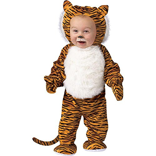 Toddler Cute Tiger Halloween Animal Costume (24M)