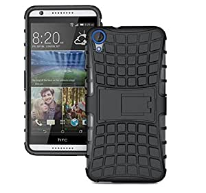 DENWA Shockproof Armor with Kickstand Case For HTC Desire 820