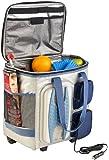 Xcase Elektrische 12-V-Thermo-Kühltasche mit Trolley-Funktion, 40 l