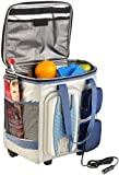 Xcase Elektrische 12-V-Thermo-Kühltasche mit Trolley-Funktion