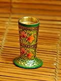 The India Craft House Papier Mache Kashmiri Art Candle Stand - 4