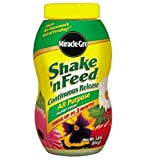 Miracle-Gro Shake 'N Feed All Purpose Continuous Release Plant Food, 1.8 lbs