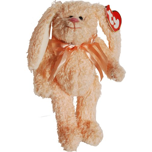 Ty Attic Treasures - Camelia the Peach Bunny Rabbit - 1