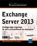Exchange Server 2013 - Configuration...