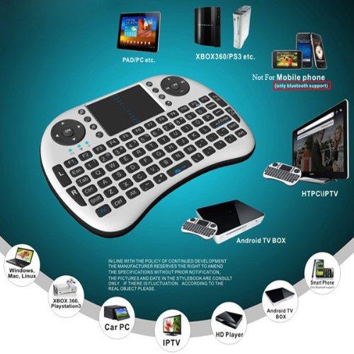 208781b4aff eSynic® 2.4G Mini Wireless Keyboard