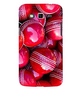 EPICCASE Cricket Ball Mobile Back Case Cover For Samsung Galaxy Grand Neo Plus (Designer Case)