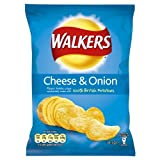 Walkers Cheese and Onion Crisps 34g