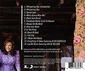 Loretta Lynn Full Circle CD with Photo Magnet - Direct From Artist