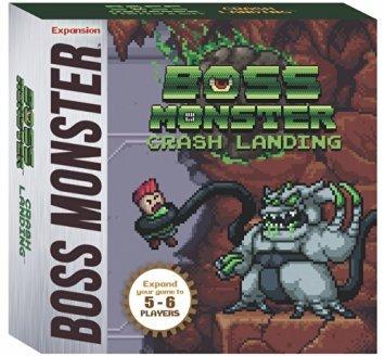Boss Monster: Crash Landing 5-6 Player Expansion - English