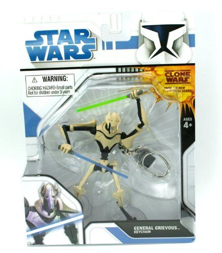 Star Wars Series 1 Keychain - General Grievous (Imperial Gunner Helmet compare prices)