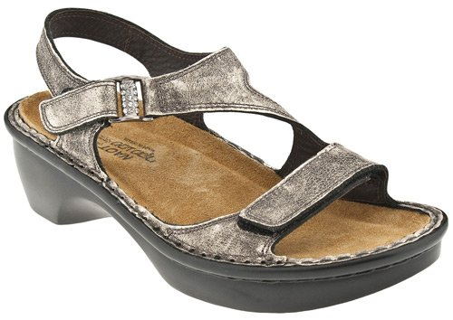 Naot Women's Faso Sandals,Metal Leather,39 M EU