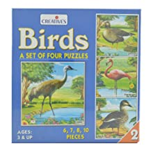 Creative Birds Part 2 - Set Of Four Puzzles