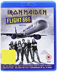 Iron Maiden: Flight 666 - The Film [Blu-ray]