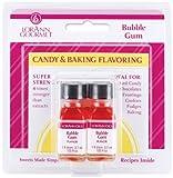 Candy & cottura aroma.125 oncia bottiglia 2/Pkg-Bubble Gum