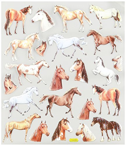 Multi-Colored Stickers-Wild Horses