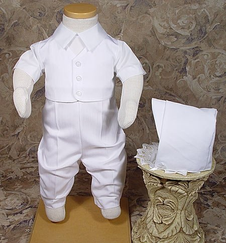 Baby Dedication Outfits For Boys front-649633