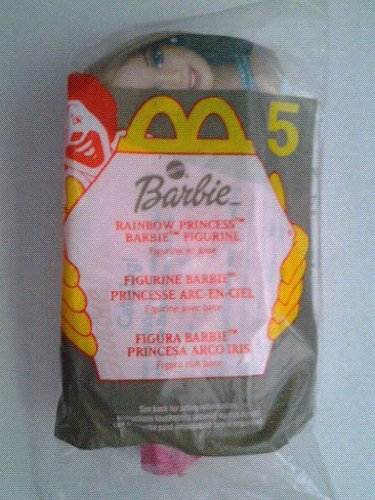 Rainbow Princess Barbie - 2000 McDonalds Toy
