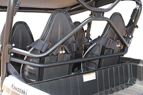 Kawasaki Teryx4 Rear Harness Bar Powder-Coated Black (Rhino Shoulder Harness Bar compare prices)