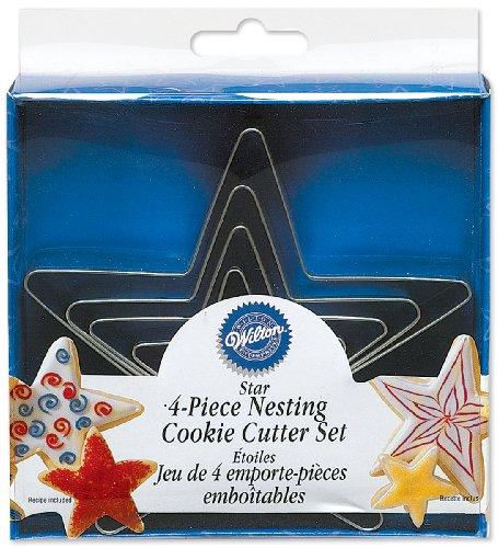 Wilton Stars Nesting Metal Cutter Set