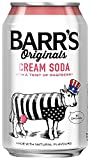 Barr's Original Cream Soda with Raspberry 330 ml (Pack of 24)