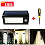 GRDE� 400 Lumens 32 LED Solar Powered...