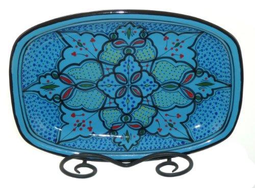 Le Souk Ceramique Rectangular Platter, Sabrine Design