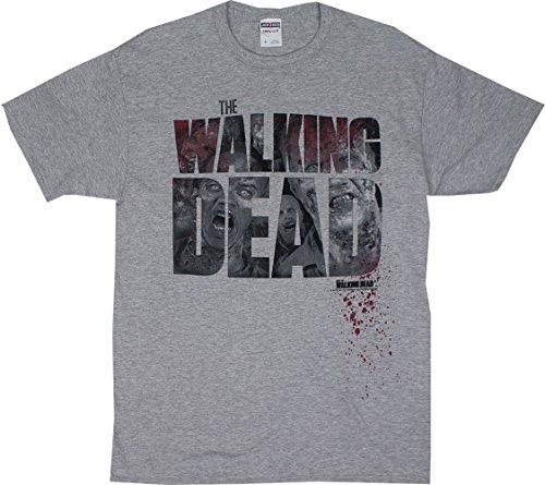 Logo Faces - Walking Dead T-shirt