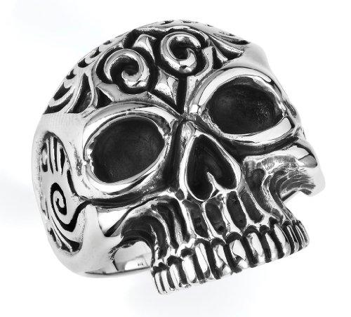 Stainless Steel Casting Skulls Ring SIZE 11